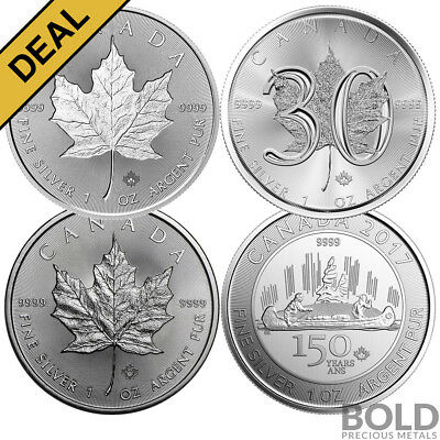 BOLD Set: RCM Anniversary Celebration ? 4 Coin Collector Set