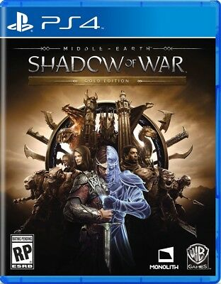 Warner Home Middle-Earth: Shadow Of War Gold Edition (PS4)