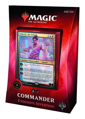 Magic the Gathering CCG: Commander 2018 - Exquisite Invention - NEW Sealed
