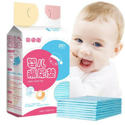20Pcs Baby Disposable Changing Pad Soft Waterproof Mat Portable changing Pad New