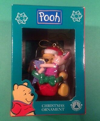 Disney Winnie The Pooh With Piglet Christmas Ornament