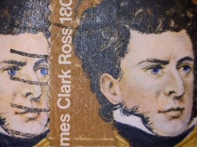 2 Gb Error/variety Used 3P Class Stamps Sg897 Blue Eyes Shifted 1St- See Photos