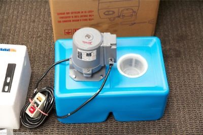 UE-9L General Purpose 1/8 HP Coolant Pump with Tank and Nozzle Assembly, 110V