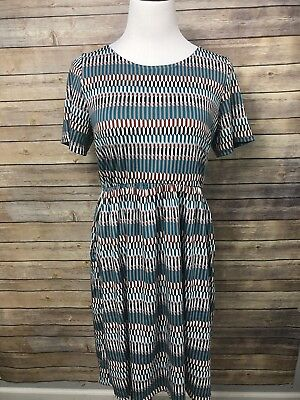 ae8350763c388 NWT PIPHANY HONEY & Lace Geometric Print Windsor Dress L B6 - $35.00 ...