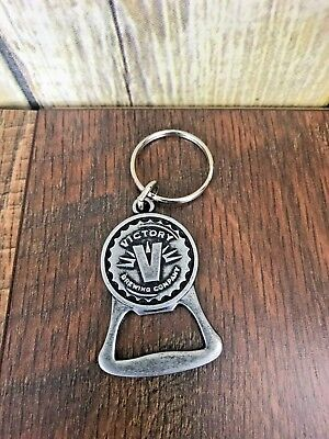NEW Victory Brewing Company Metal Beer Bottle Opener Key Chain Taste Victory PA
