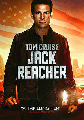NEW AND FACTORY SEALED Jack Reacher (DVD, 2013)