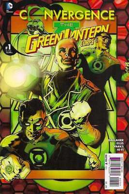 Convergence Green Lantern Corps #1 in Near Mint condition. DC comics [*ab]