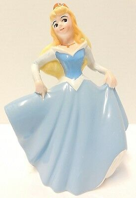 Vintage Disney Sleeping Beauty Porcelain / Ceramic Figure / Statue Dancing