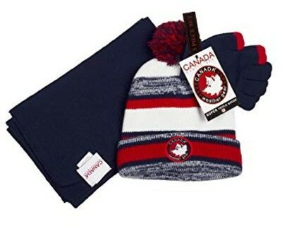 Canada Weather Winter Set  For Kids. Hat And Scarf New.
