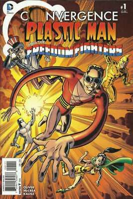 Convergence Plastic Man and the Freedom Fighters #1 in NM cond. DC comics [*v3]