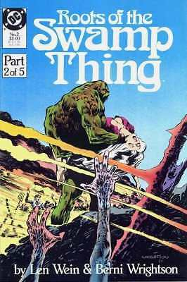 Roots of the Swamp Thing #2 in Near Mint minus condition. DC comics [*n7]