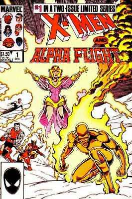 X-Men/Alpha Flight (1985 series) #1 in VF + condition. Marvel comics [*8d]