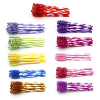 500 Pcs Disposable Eyelash Brush Applicator Extension Mascara Wands Spoolers Lot