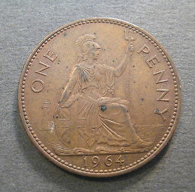 1964 Great Britain Penny -* No Reserve **- (M952)