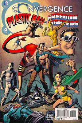 Convergence Plastic Man and the Freedom Fighters #2 in NM cond. DC comics [*1k]