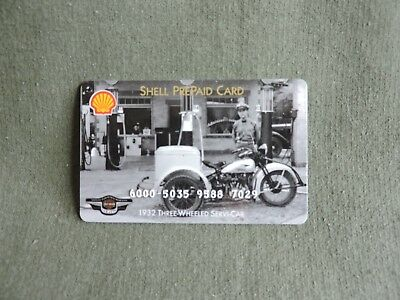 1998 95th Harley Davidson Anniversary Expired Collectible Credit Charge Card