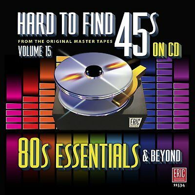 New CD Hard To Find 45s On CD Volume 15 80s Essentials & Beyond 20 Tracks