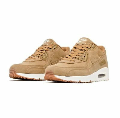 Nike Air Max 90 Ultra 2.0 LTR Flax Sail Gum Medium Brown