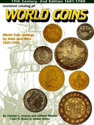 Standard Catalog of World Coins 1601-1700 by Chester L. Krause 2nd Ed