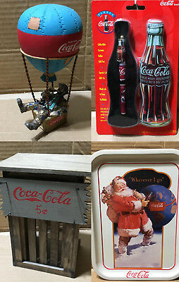 Coca-Cola Advertising Merchandise christmas sign ornament franklin mint doll