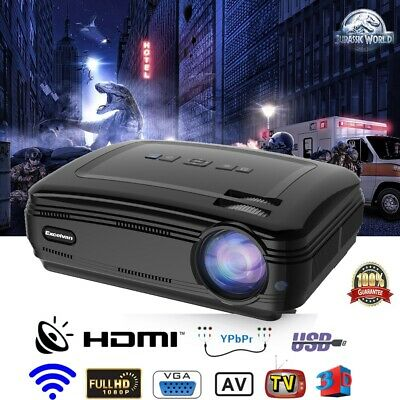 Proyector Excelvan BL-59 Android 6.0.1 Projector 3D 1G+8G projector 1080P HD