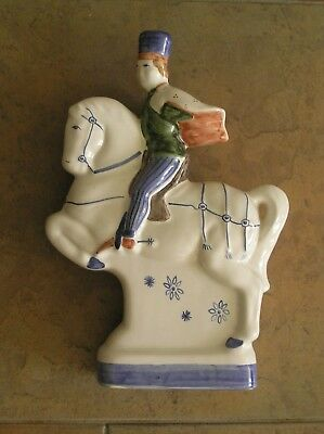 """A Rye Pottery """"canterbury Tales"""" Figurine: """"the Squire"""": 9"""" Tall: Vg Condition"""