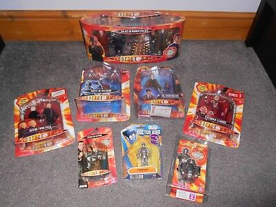 Job Lot Collection New BBC Doctor Who TV Television Series Action Figures & More