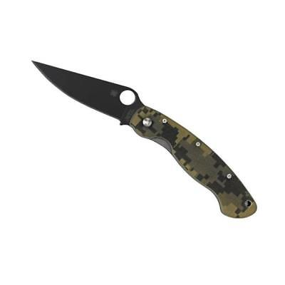 Spyderco - C36Gpcmobk - Couteau Spyderco Military
