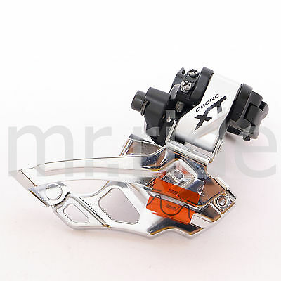 Shimano XT Down Swing Front Derailleur 2*10S FD-M786 Clamp On 31.8mm Silver New