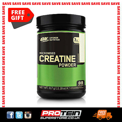 Optimum Nutrition Micronised Creatine Monohydrate for Muscle Development by ON