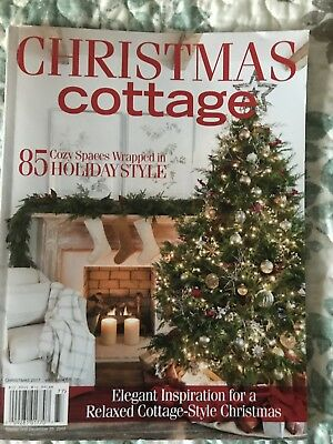 Pleasant Christmas Cottage Magazine 2017 Home Decor Vintage Style Elegant Inspiration Home Interior And Landscaping Ymoonbapapsignezvosmurscom