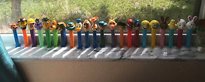 Lot of 22 collectible Pez dispensers