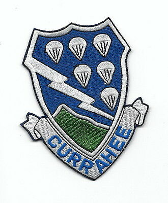 "#122  Us Army 506Th Band Of Brothers  Patch ""currahee"""