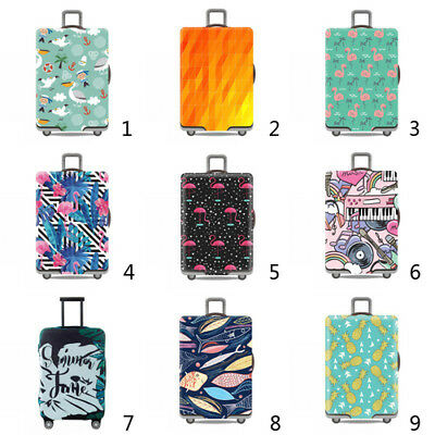 "19"" ~ 32"" Elastic Travel Suitcase Cover Anti Scratch Luggage Protector Dustproof"
