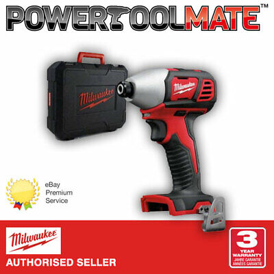 Milwaukee M18BID-0 18v Cordless Compact Impact Driver Bare Unit With Case