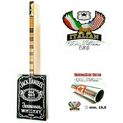 Cigar Box Guitar JACK DANIEL'S mod. 3TP Volume by Robert Matteaccì