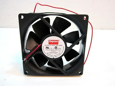 """Square 3-5/8 x 3-5/8"""" Vertical/Horizontal Mounted Axial Fan 12VDC NEW"""