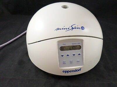 Eppendorf MiniSpin Plus 5453 Micro Centrifuge F45-12-11 12-Position Rotor & Lid