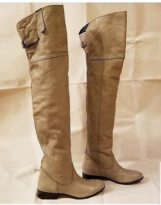 d14a39d5ca3 SEE BY CHLOÉ Fringed leather over-the-knee boots IT 40 or US 9 ...