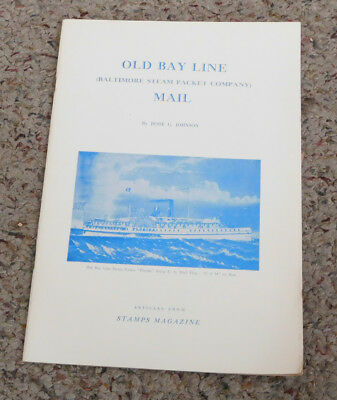 Old Bay Line Mail ~ Baltimore Steam Packet Company ~ 1965