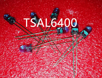 Hot Sell  10PCS  NEW  VISHAY  TSAL6400  DIP-2  5mm Infrared LED 940nm IR Diode
