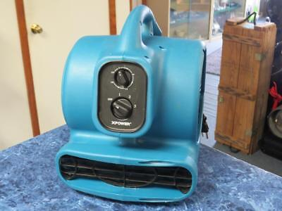 XPOWER P-230AT 1/5 HP 3 Speeds Mini Air Mover w/ Timer and Dual Outlets – Nice!