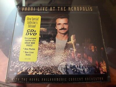 YANNI CD HOT Yanni Live At The Acropolis Free Post In Australia