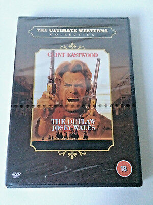 THE OUTLAW JOSEY WALES Clint Eastwood DVD Classic Ultimate Western NEW & SEALED
