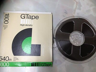 G Tape Sound Recording 7 Inch Reel To Reel Tape. Good Condition. (FS5)