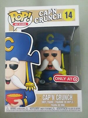 Funko POP! AD ICONS Cap'n Crunch #14 Target Exclusive W/POP PROTECTOR