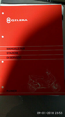 MANUALE OFFICINA GILERA RUNNER 50 vome nuovo