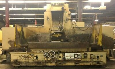 "Mattison 24"" X 72"" Surface Grinder"