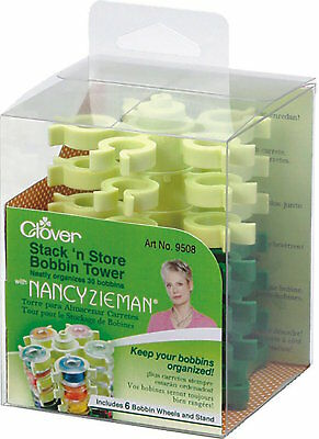 Clover 9508 Bobbin Organizer Stack 'N' Store Sewing Tower NEW