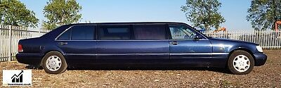 Mercedes S Class S500 Limo Auto 1995 Pullman Stretch Limo For Sale